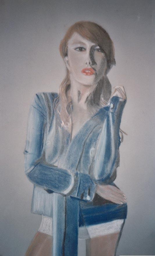 2000-B.Bandinelli-Donna(in blu)